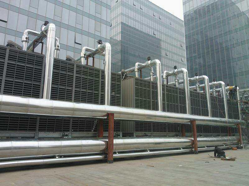 冷却塔管道保温施工案例