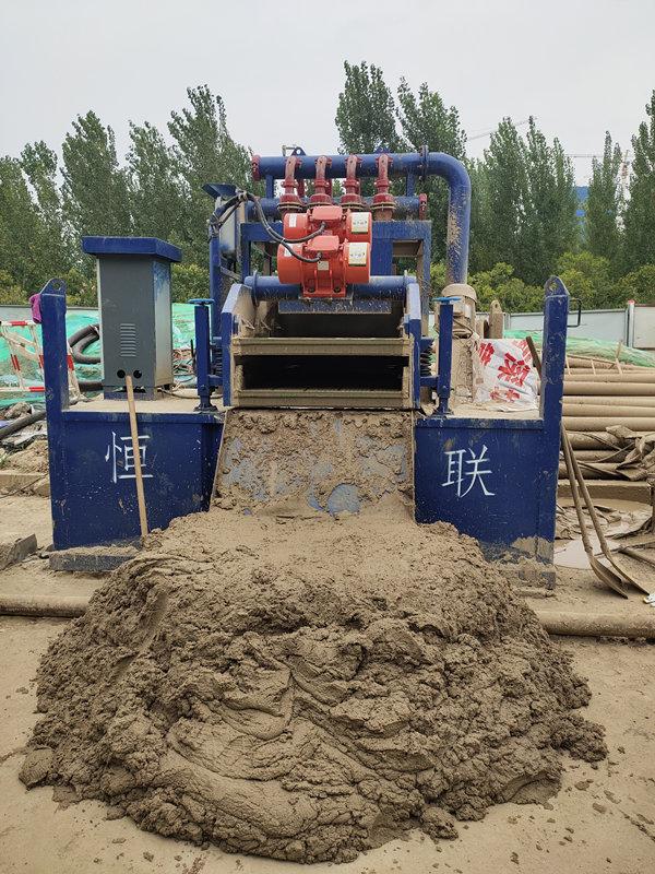 除泥器泥浆净化器应用案例