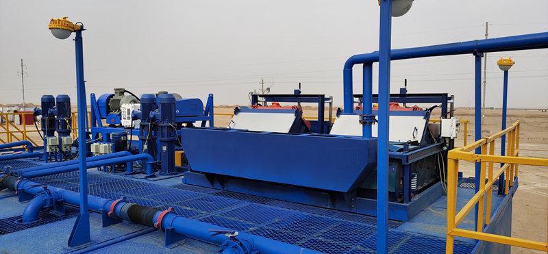 泥浆净化装置应用案例
