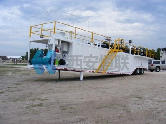 车载泥浆循环系统