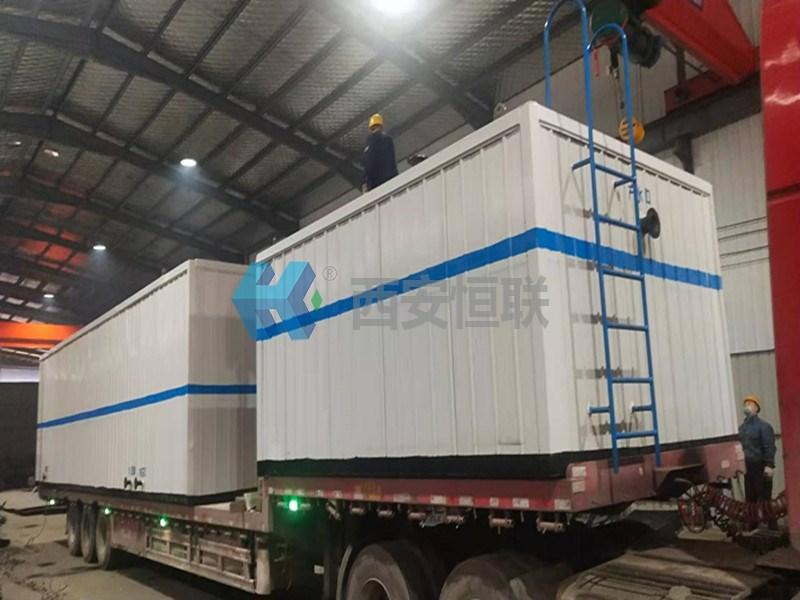 西安恒联一体化污水处理设备准备发货