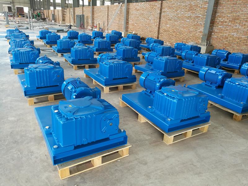 近日公司承接一批固控搅拌器已生成完工,准备发往山东投入使用。