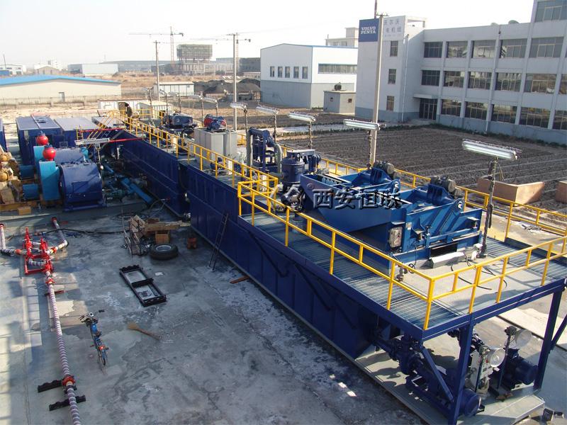 石油钻井液固控系统