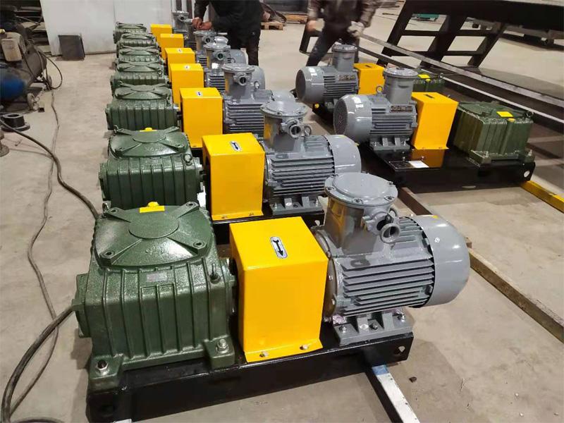 15台11KW泥浆搅拌器发往新疆