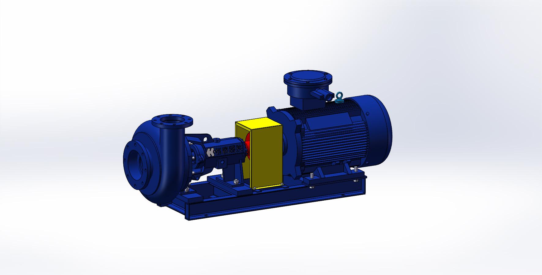SB6×8单级单吸砂泵