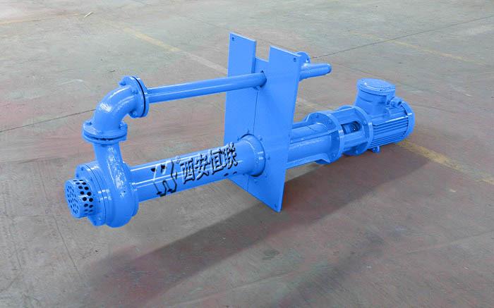 LSB液下渣浆泵观察压力表,在出水有压力,但水管仍不出水是什么原因及解决办法