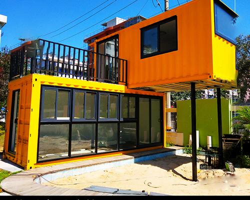 房价太贵,集装箱房屋也能让人住得很舒服