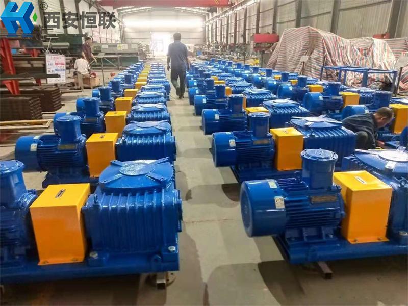 恒联40台18.5kw钻井液搅拌器完工装运