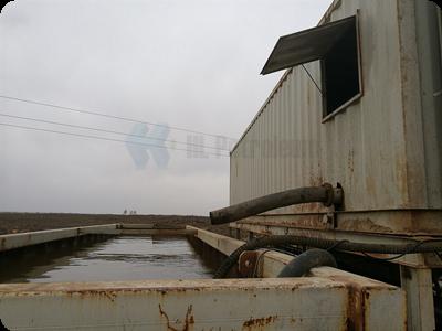 恒联泥浆不落地处理系统服务钻井现场