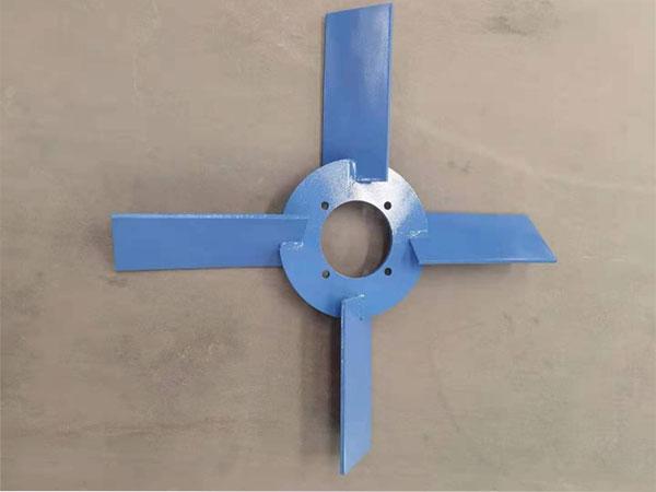 钻井液搅拌器叶轮的两种安装方法