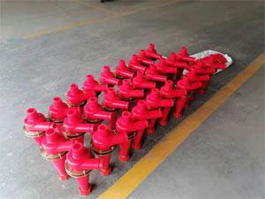今天恒联发一批除泥器4寸旋流器到甘肃庆阳