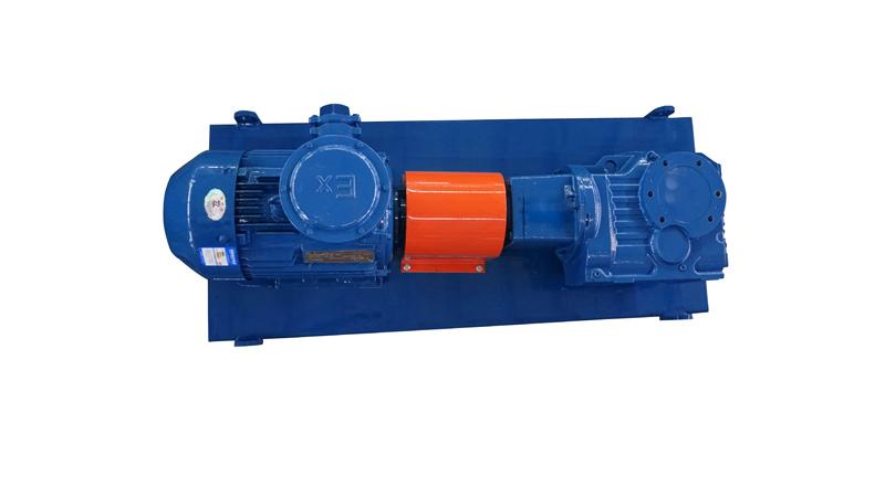 斜齿轮钻井泥浆搅拌器