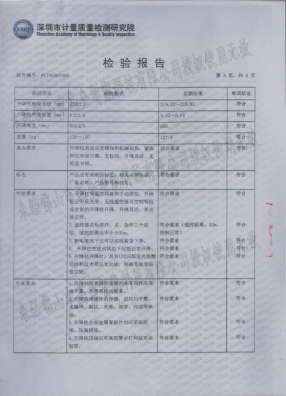 检验报告3