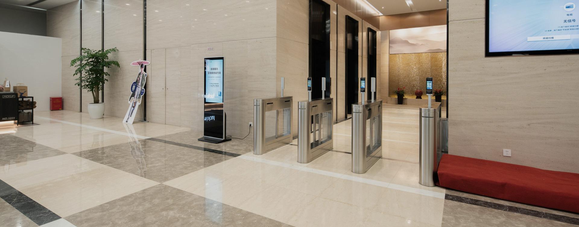 大厦智能访客系统出入口管理解决方案