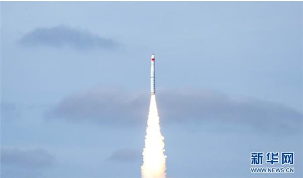 长征十一号海射运载火箭成功发射