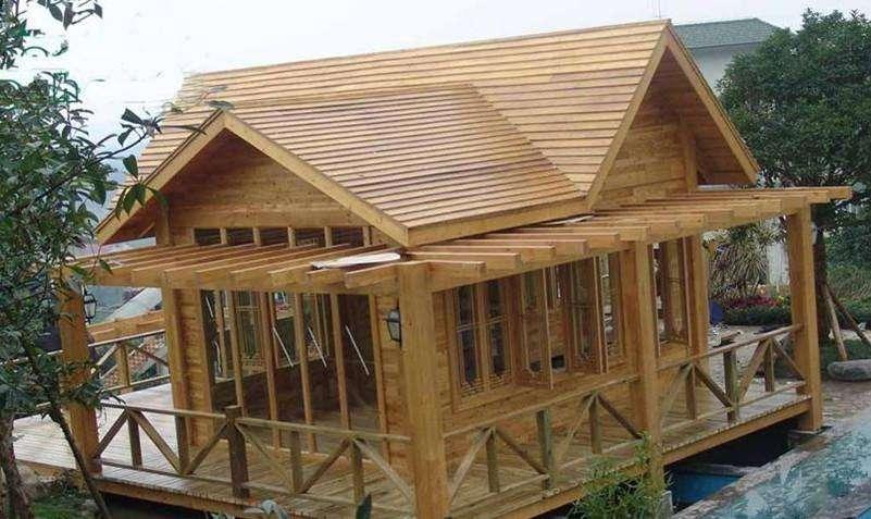 防腐木木屋厂家施工景观木屋支持定制