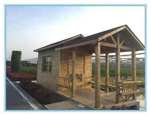 你知道宜昌木屋使用的哪种材料搭建的吗?从碳化木和防腐木该如何区分?