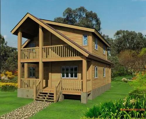其实宜昌木屋的搭建选材大都是防腐木,这种木材经过处理,使用时间更长