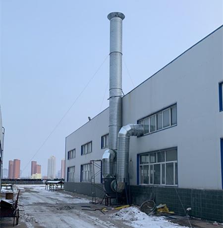 定边采油厂油烟治理工程案例 (2)