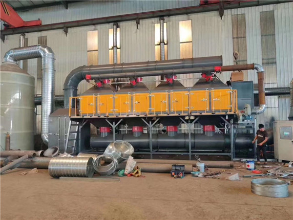 vocs催化燃烧处理系统