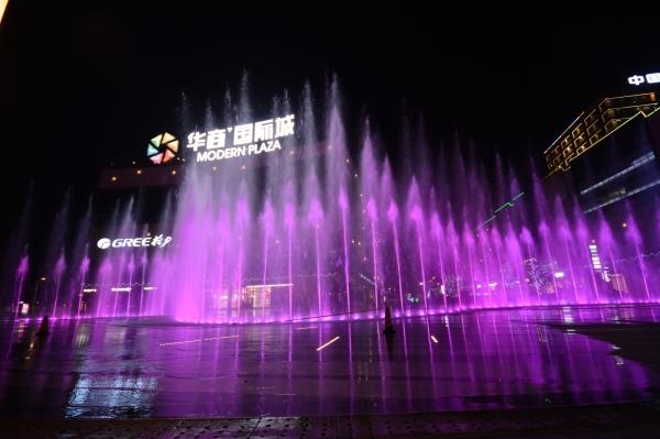 四川激光水幕电影助力夜游,提升景区附加值!