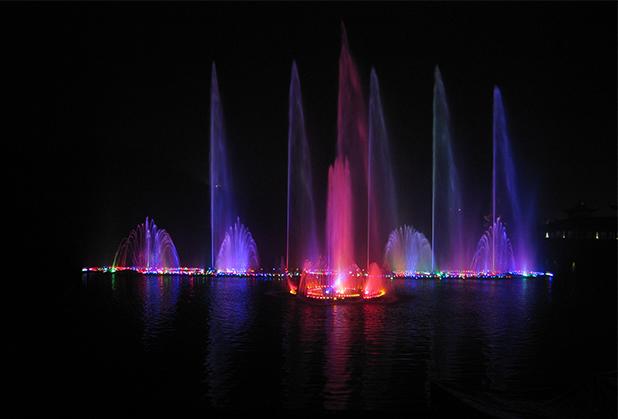 内江漂浮式喷泉定制