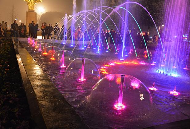 内江广场喷泉生产厂家