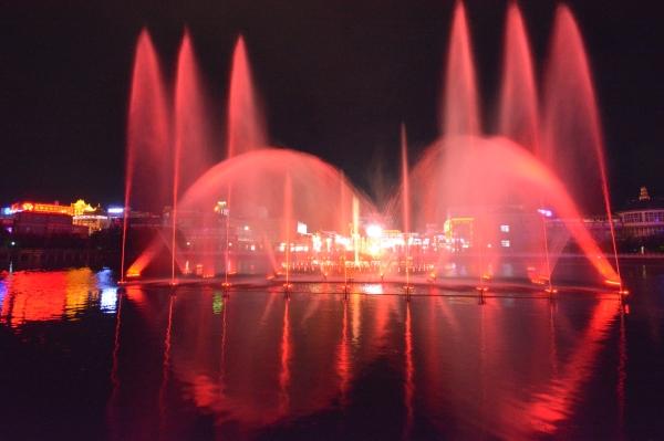 云南音乐喷泉安装成功案例