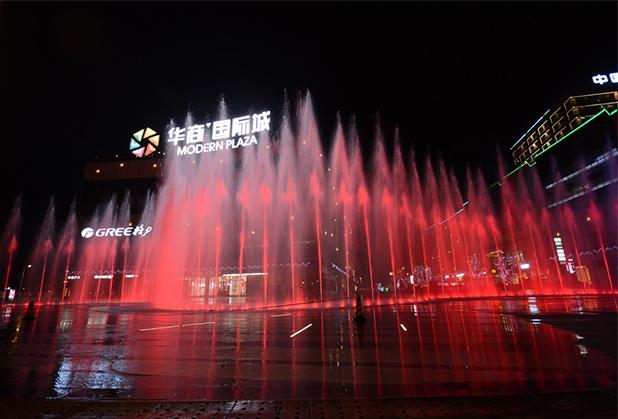 四川旱式喷泉