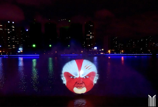 四川激光水幕电影
