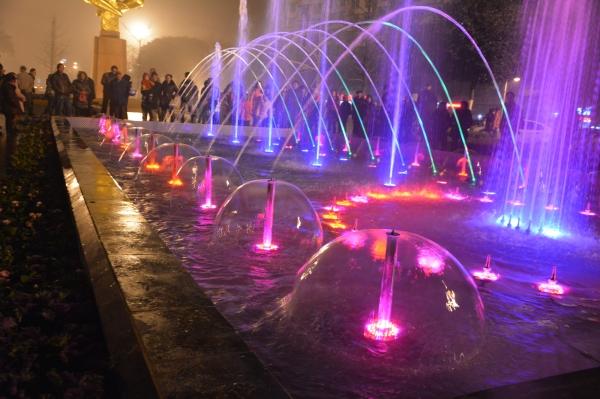 四川广场喷泉施工工程案例