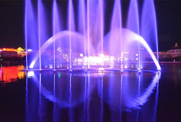水舞秀艺术喷泉带您了解四川喷泉设备的作用?