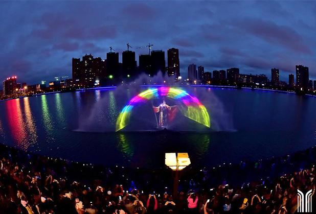 神奇的四川水幕电影是怎样形成的呢?