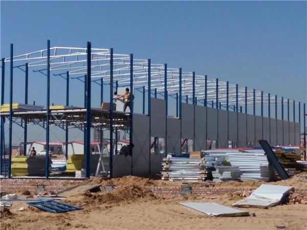 彩钢活动房搭建案例展示