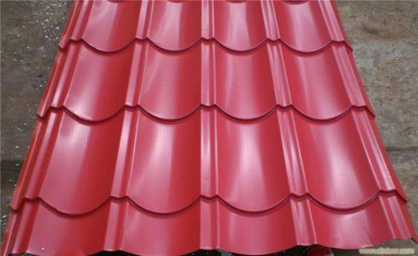 彩钢压型板颜色多样可以根据客户的要求进行加工生产!