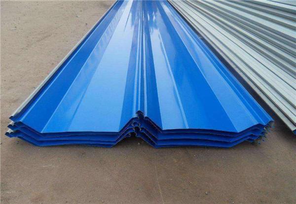 彩钢压型板可以用于修建、家电和交通运输