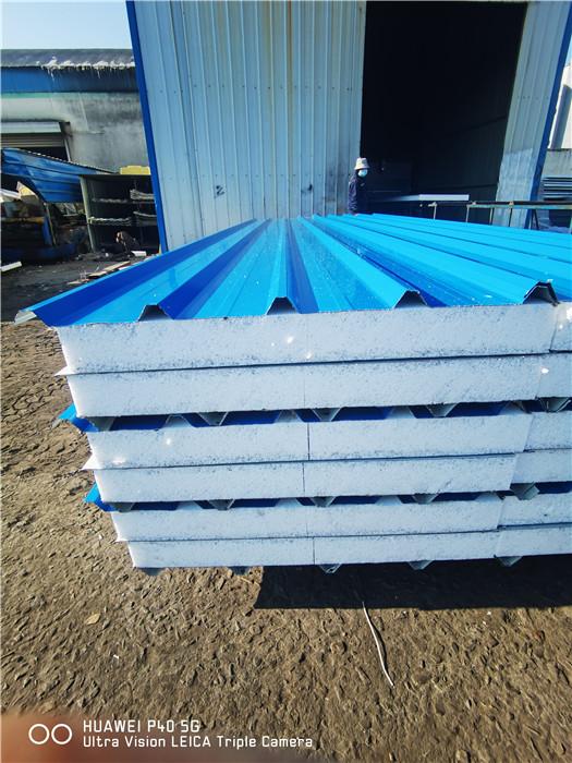 高质量天蓝色泡沫夹心板