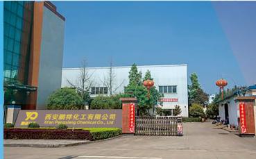 西安鹏祥化工厂区风貌