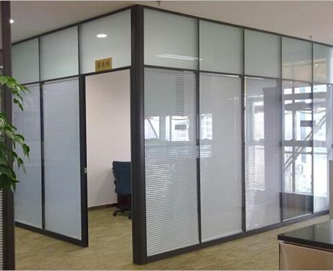 玻璃百叶隔墙