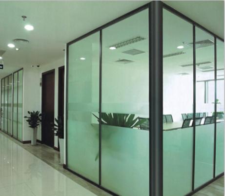 四川玻璃百叶隔墙的玻璃隔断的主要分类