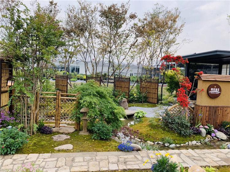 西安花镜庭院绿植如何设计规划?