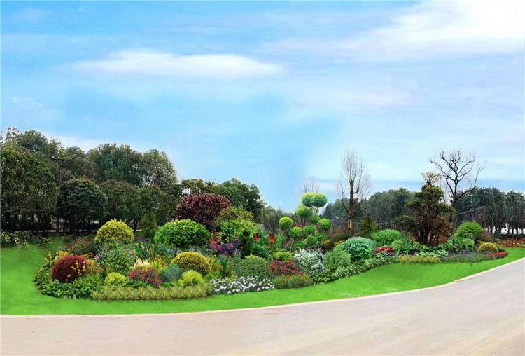 西安市政花卉设计