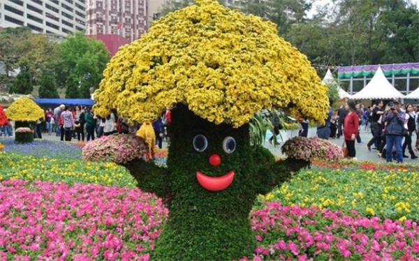 花卉植物造景需注意的点
