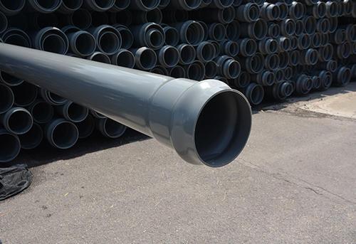 华亚生产的PVC给水活套管为何有一条记号线?