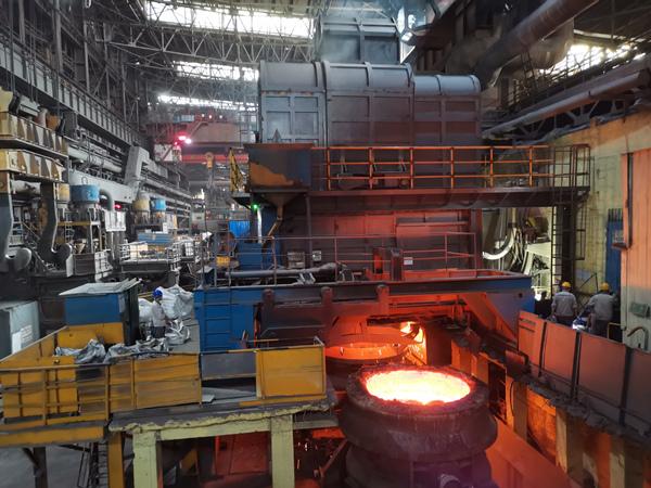 热烈祝贺60tLF钢包精炼炉升级改造圆满完成