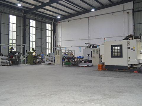 四川异形结构件加工厂展示