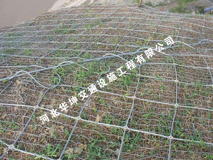 边坡防护网的注意事项