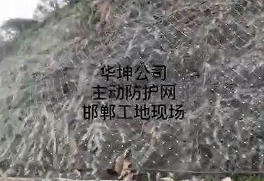 华坤主动防护网邯郸案例展示