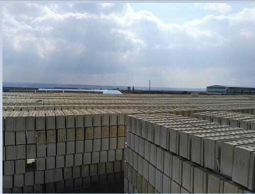 石膏砌块生产