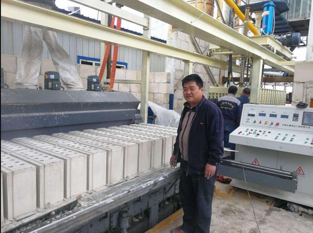 2号石膏砌块生产线